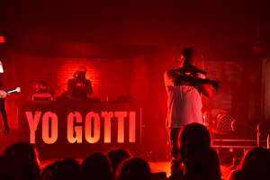 Rapper Yo Gotti performed a free Houston show as part of a Tidal competition.