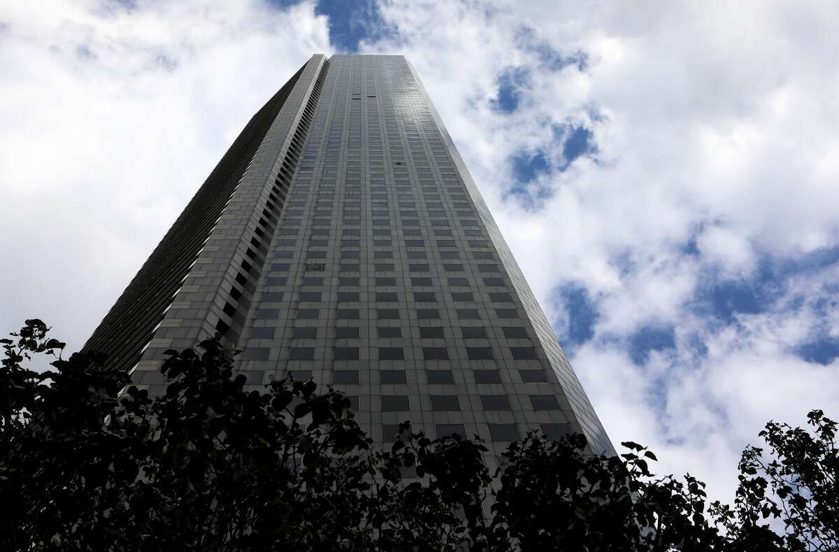 PHOTOS: One of the world's most famous architects, I. M. Pei, has died at the age of 102.HOUSTON - NOVEMBER 04: Architect I.M. Pei's JP Morgan Chase Tower in Houston, Texas on November 4, 2017. (Photo By Raymond Boyd/Getty Images)>>> See some of famed architect I.M. Pei's most iconic buildings, including Texas landmarks ...