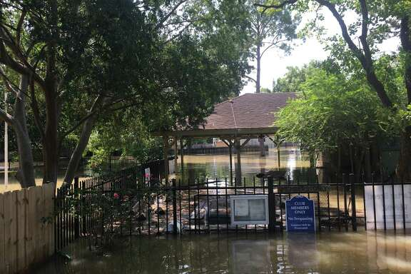 During the peak of flooding during Hurricane Harvey, the Memorial Bend Club was under five to six feet of water. Nearly two years later, the club is struggling financially and is considering selling about half of its property to Amazing Spaces Storage Centers, which plans to build a large storage facility.