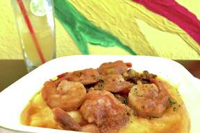 Jerk shrimp and grits ($14.99) are on the new Jamaica Jamaica Cuisine brunch menu.