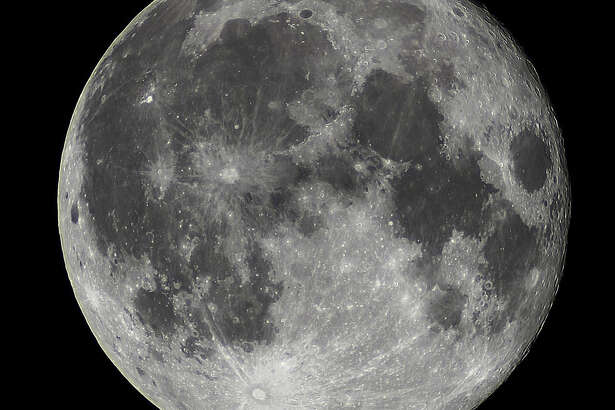 Full moon photographed Dec. 4, 2017.