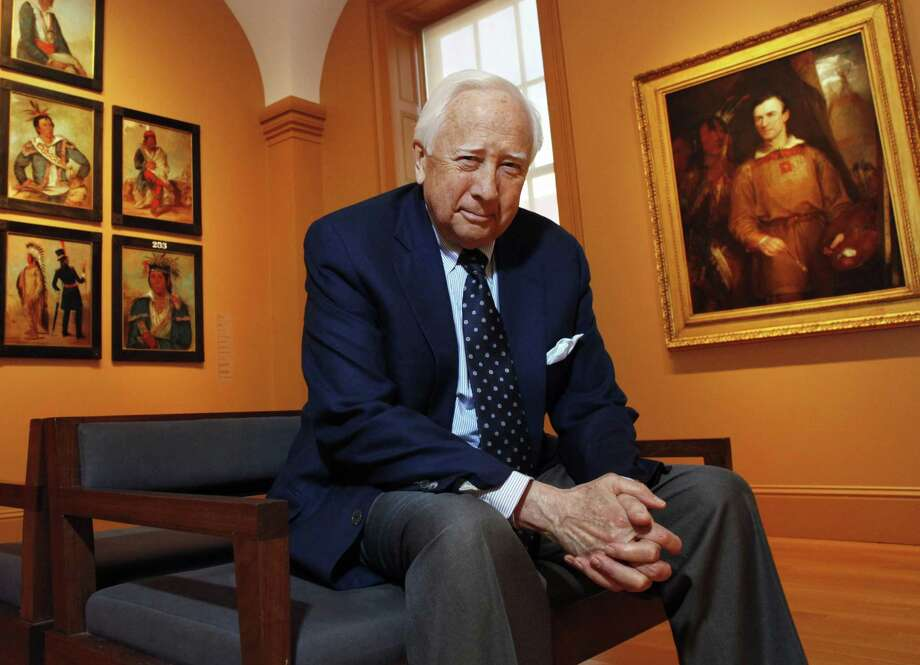 "The Pulitzer Prize-winning historian David McCullough's latest work, ""The Pioneers: The Heroic Story of the Settlers Who Brought the American Ideal West,"" focuses on some of those who embarked to the Northwest Territory in the late 18th century and formed communities in what became the state of Ohio. Photo: Jacquelyn Martin, STF / Associated Press / AP2011"