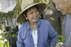 Wear a wide-brimmed, loose-fitting hat while gardening, fishing or walking. It will allow for ventilation and helps prevent sunburn and heat-related problems.