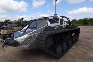 Texas A&M University this week helped showcase new robotic combat vehicles for the Army Futures Command, an Austin-based post aimed at modernizing the U.S. Army. The Texas A&M Rellis campus, a former Army airfield, offered ample space to show off the vehicles, said A&M spokesman Laylin Copelin.