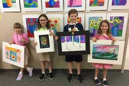 At the Texas Elementary Art Meet, a visual arts event sponsored by the Texas Art Education Association, 11 lower school students received awards, and 10 of those students received the highest rating during judging.