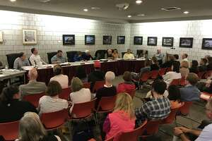 Members of the Board of Education and Board of Selectmen met this week to reduce the proposed 2019-20 budget.