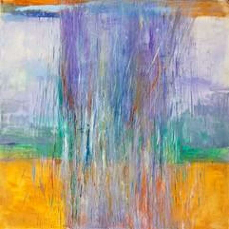 """""""Spring Rain"""" by Karen Wexler is one of the paintings featured in a new show at the Sharon Historical Society gallery, opening Saturday. Photo: Contributed Photo"""