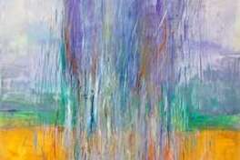 """""""Spring Rain"""" by Karen Wexler is one of the paintings featured in a new show at the Sharon Historical Society gallery, opening Saturday."""
