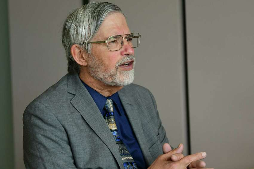 John Holdren, former science advisor to the Obama White House, is interviewed at Experimental Media and Performing Arts Center at Rensselaer Polytechnic Institute on Friday, May 17, 2019 in Troy, N.Y. He will be speaking at RPI as part of the 2019 Commencement. (Lori Van Buren/Times Union)