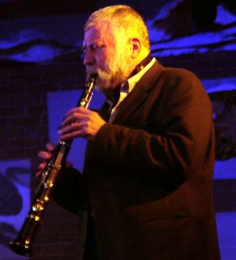free jazz saxophonist Peter Brotzmann