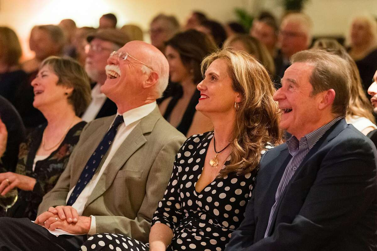 Catherine Wolff, Tobias Wolff, Carol Edgarian and Tom Jenks at Narrative magazine 15th anniversary party