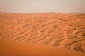 "The Rub' Al Khali, or ""Quarter of Emptiness,"" is the world's largest sand desert."