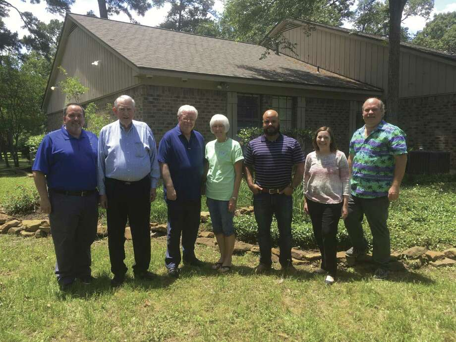 Conroe Kiwanis Club members at Yes for Youth-Montgomery County Youth Services last Wednesday.