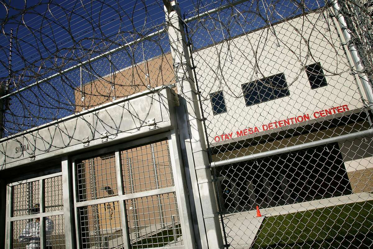 The main entrance to Otay Mesa Detention Center in south San Diego, Calif. (Nelvin C. Cepeda/San Diego Union-Tribune/TNS)