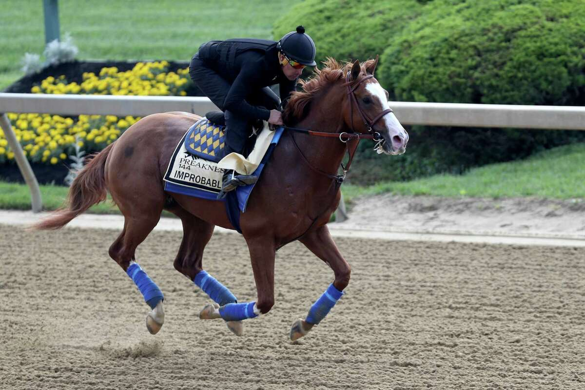 Improbable is the pick for the Register's Dan Nowak for Saturday's Preakness Stakes.