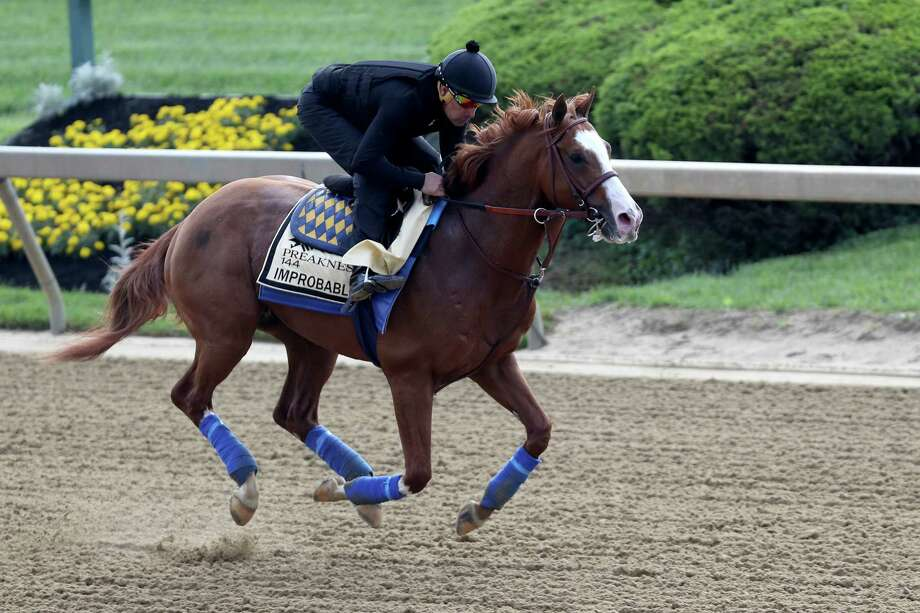 Improbable is the pick for the Register's Dan Nowak for Saturday's Preakness Stakes. Photo: Rob Carr / Getty Images / 2019 Getty Images