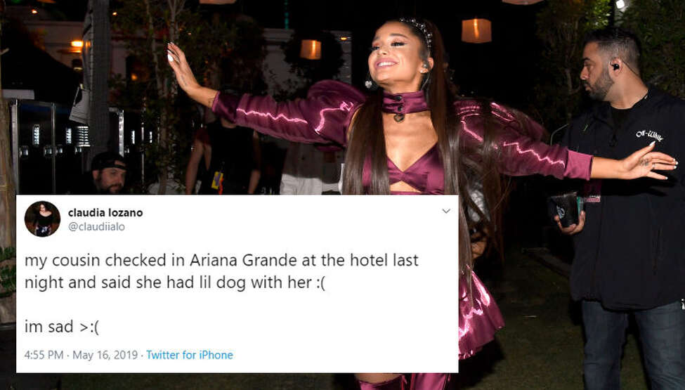 As multiple people reported seeing Ariana Grande around town, the sightings tweets morphed into a trend of joking about seeing the star at favorite San Antonio spots.
