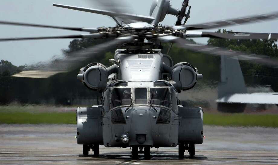 A Sikorsky CH-53K King Stallion helicopter in May 2018 at Marine Corps Air Station New River, N.C. Photo: U.S. Marine Corps / Contributed Photo / Connecticut Post Contributed
