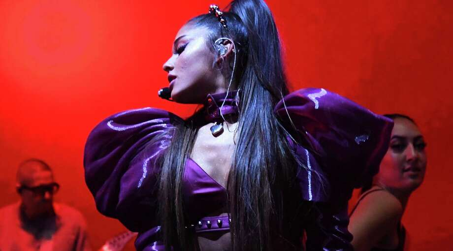 """Ariana Grande: Rising pop star Grande became something more in the wake of terror and heartbreak, a profile in resilience and good will. She followed her 2018 album """"Sweetener,"""" the most warmly received work of her young career, with a pair of No. 1 hits, """"Thank U, Next"""" and """"7 Rings."""" 8 p.m. Friday. AT&T Center, 1 AT&T Center Parkway at East Houston St. Sold out (some verified resale tickets available at ticketmaster.com). attcenter.com — Jim Kiest Photo: Kevin Mazur /Getty Images For AG /Getty Images For AG / 2019 Kevin Mazur"""