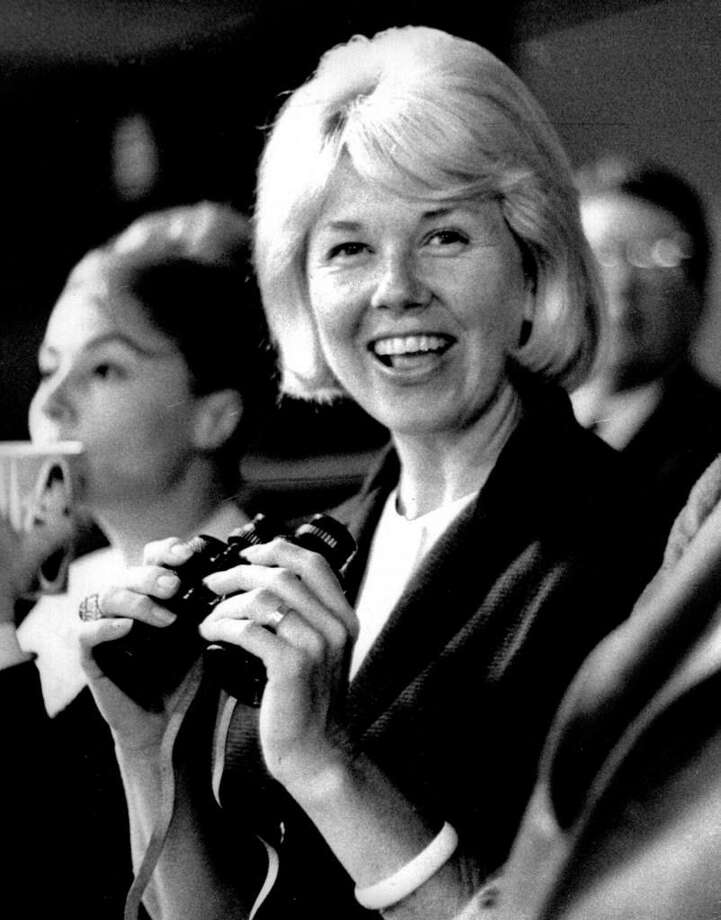 This 1962 photo provided by Michael Raphael shows actress and singer Doris Day at a Los Angeles Dodgers baseball game in Los Angeles. Day died at her home in the Carmel Valley in Northern California. She was 97. A reader remembers her fondly. Photo: Michael Raphael Via AP /