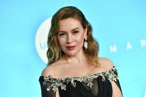 Alyssa Milano attends the 14th Annual UNICEF Snowflake Ball in New York City. Milano is among those objecting to a strict new abortion laws passed in Georgia — and calling for a sex strike.