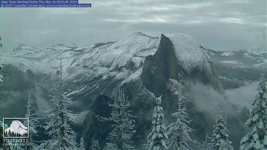 Yosemite looks like a snow globe, and summer is just around the corner