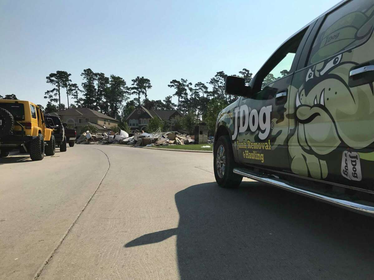 JDog Junk Removal & Hauling opened in the Houston area in June 2017. A month after its grand opening, they serviced the Lake Houston area as well as the rest of Harris County during Hurricane Harvey and the recent floods in May 2019.