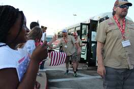 Veterans from across the country received a 'hero's welcome' at the Humble Civic Center on May 16, 2019 as part of Warriors Weekend.
