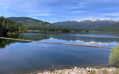 Lake Siskiyou is a jewel at the foot of the Eddy Range and in the shadow of Mount Shasta, and the site of a new trophy trout program. Photo: Tom Stienstra / The Chronicle