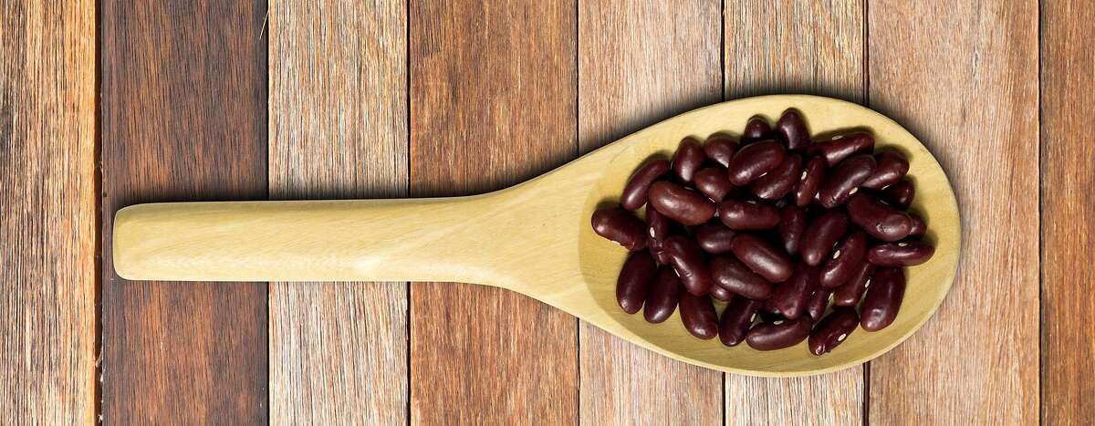 Red beans pair with sofrito rice for this Astros-inspired recipe.