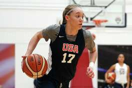 UConn commit Paige Bueckers was one of 12 players selected for the U19 World Cup roster, which was announced by USA Basketball Sunday afternoon.