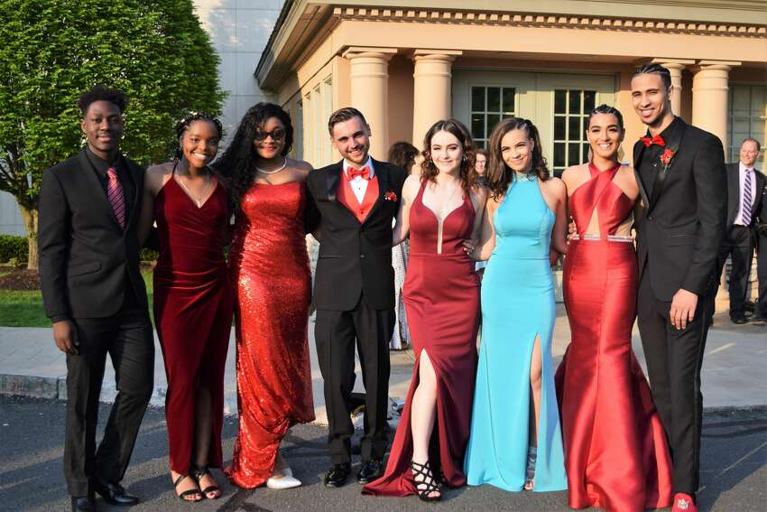 Trend: Red, Cinderella Blue, Leg Slit Monroe's Masuk High School held its prom at the Waterview in Monroe on May 17, 2019. Were you SEEN?