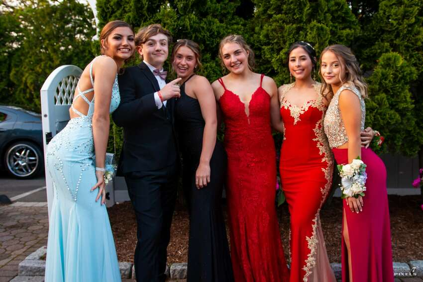 Trend: Red, Cinderella Blue Derby High School held its prom at Fantasia in New Haven on May 17, 2019. Were you SEEN?