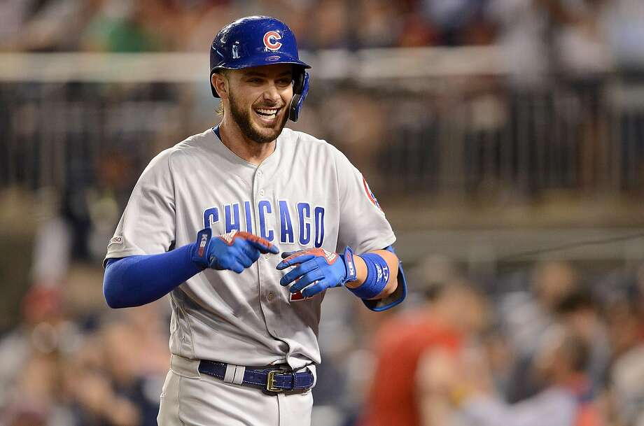 Kris Bryant homers 3 times to lead Cubs