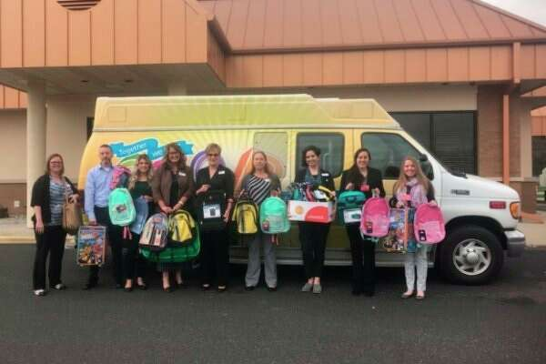 Saginaw Medical Federal Credit Union collected Cases for Kids during the month of April for the CAN Council Great Lakes Bay Region. (Photo provided)
