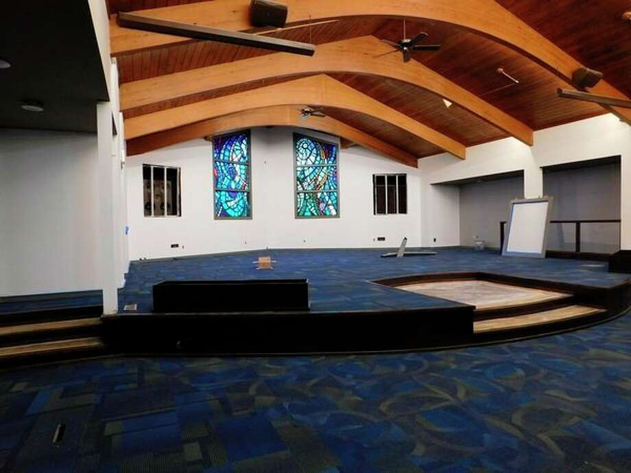 Aldersgate Church - Midland Campus has a renovated sanctuary, with a new design, carpet and chairs for seating. (Photo provided)