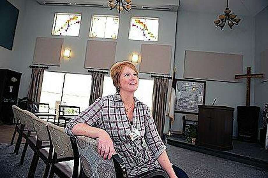 Jill Smith, administrator of Resthave Nursing Home in Morrison, said that depending on the level of service, the Veterans Administration will cover veterans' whole stay. Photo: Alex T. Paschal | The Telegraph (AP)