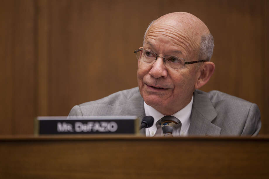 Rep. Peter DeFazio, D-Ore., is chairman of the House Transportation and Infrastructure Committee. Photo: Bloomberg Photo By Zach Gibson. / © 2017 Bloomberg Finance LP