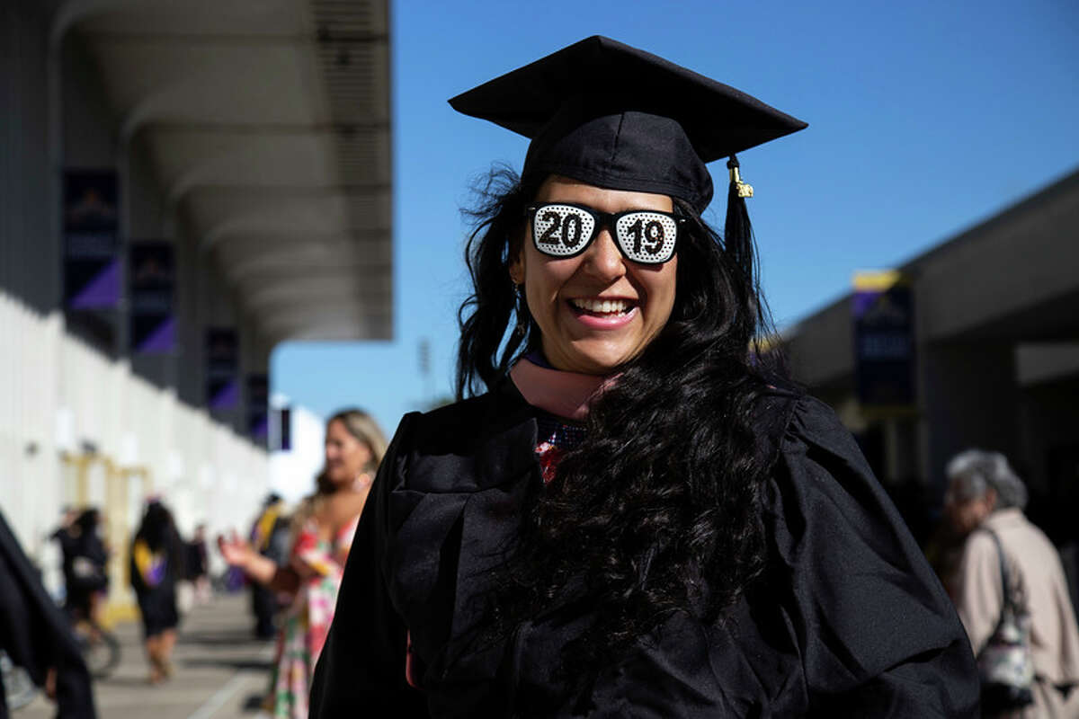 Congrats grad! Click through the slideshow to see how local graduates decorated their mortarboard for spring 2019 commencement ceremonies.