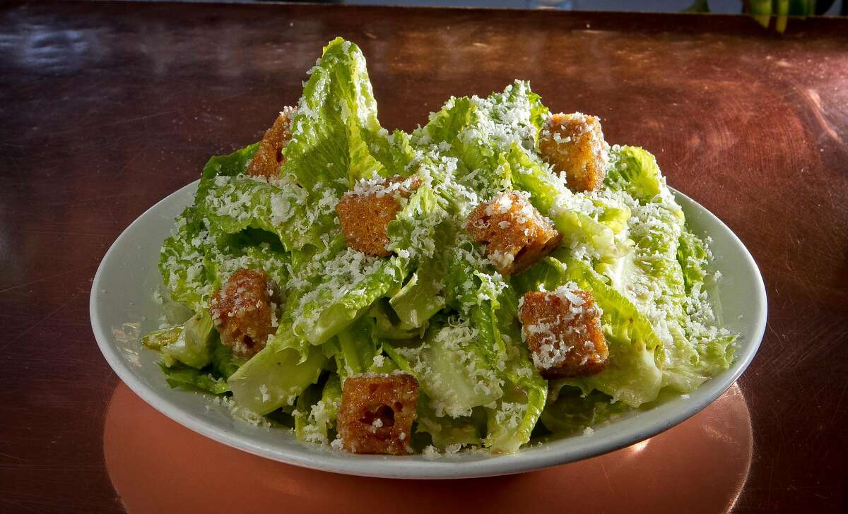 The Caesar Salad at the Zuni Cafe in San Francisco, Calif., is seen on Wednesday April 15th, 2012.