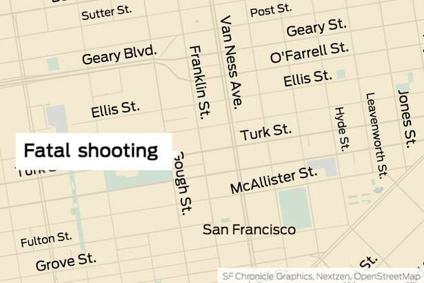 A man was shot and killed early Saturday in San Francisco's Fillmore District, authorities said.