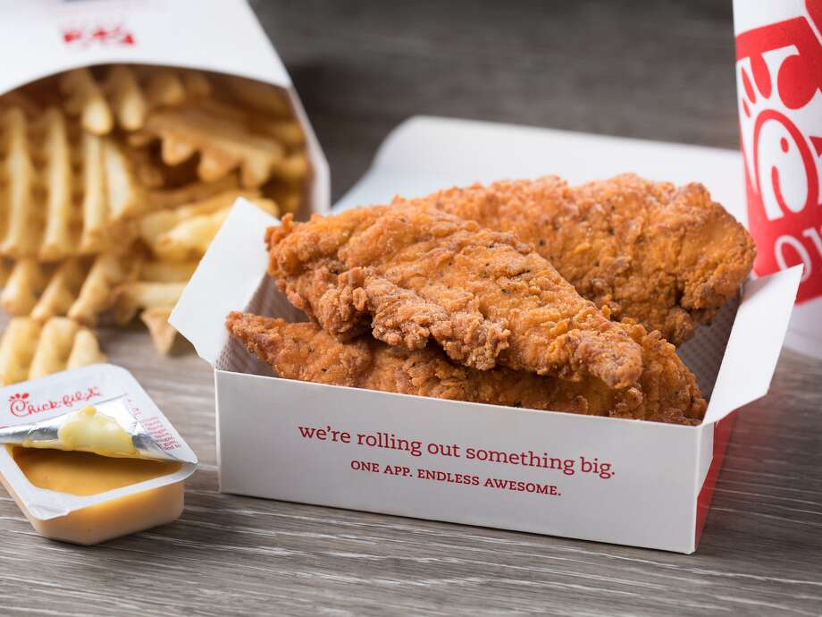 Chick-fil-A is testing Spicy Chick-n-Strips in Texas, Arizona, and Pennsylvania.  Photo: Handout/Chick-fil-A