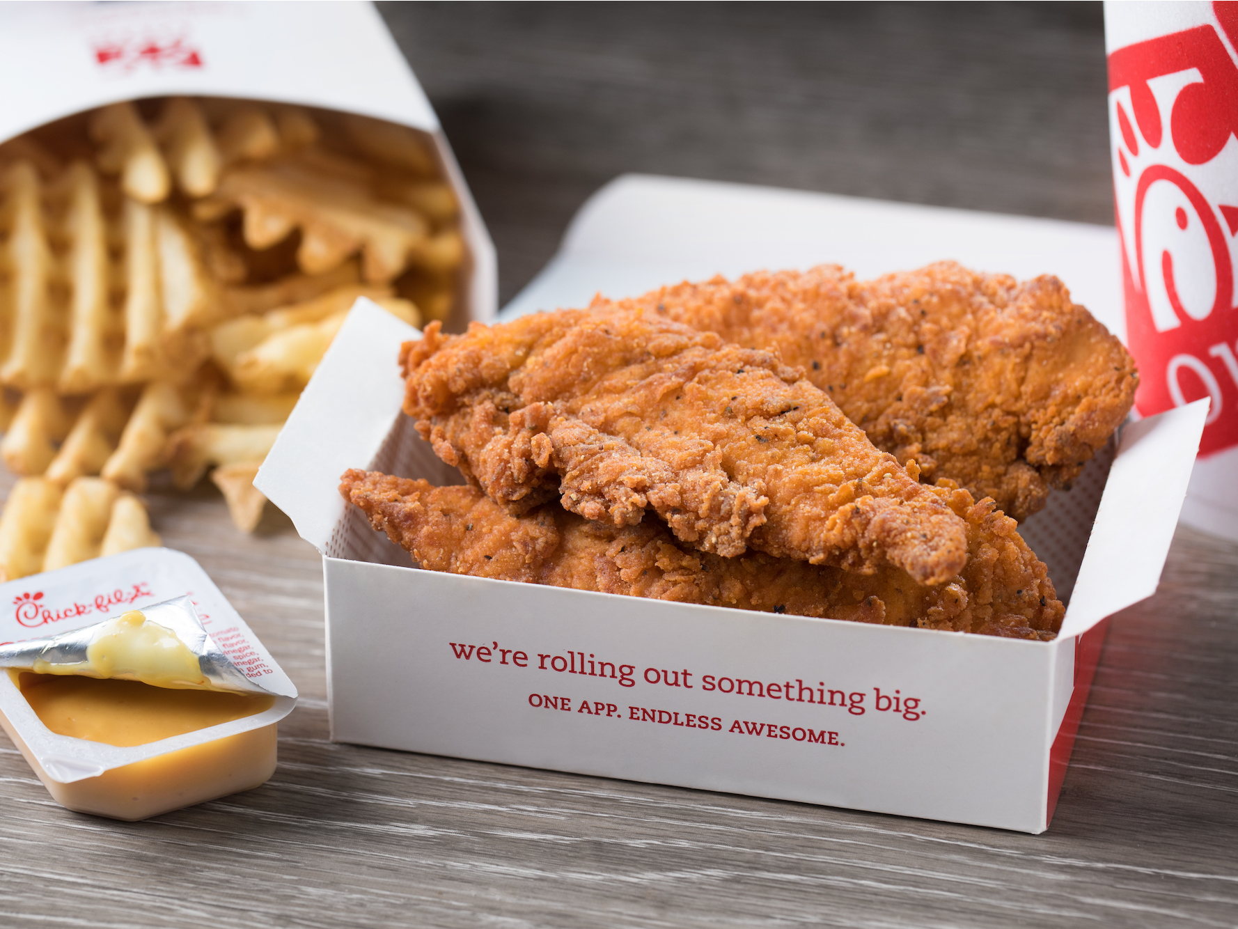 image about Chick Fil a Printable Menu identify Chick-fil-A is tests spicy bird strips as the chain