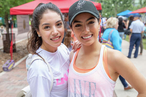 """The Pearl Farmers Market celebrated being the """"largest producer-only"""" operation in San Antonio for 10 years on Saturday, May 18, 2019, at the Historic Pearl."""