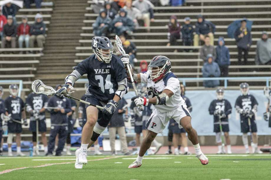 The Yale men's lacrosse team will face Ivy League rival Penn in the NCAA tournament quarterfinals on Sunday. Photo: Yale University Athletics