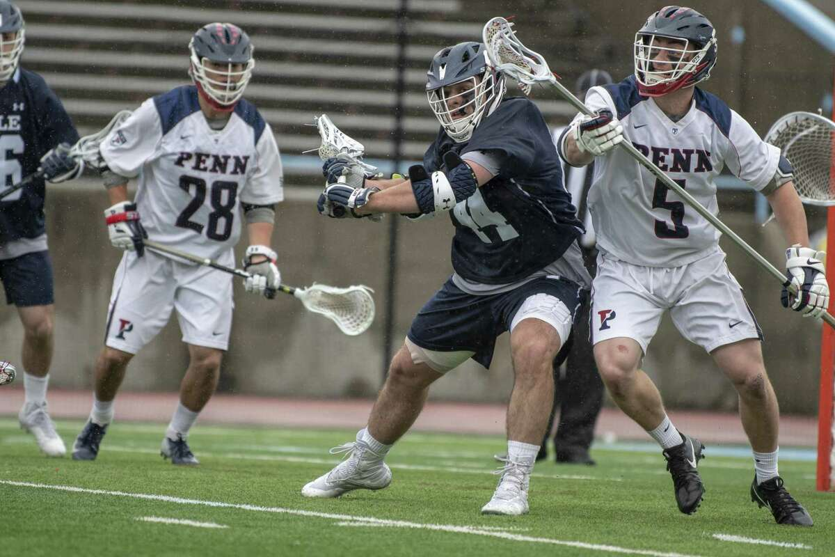 The Yale men's lacrosse team will face Ivy League rival Penn in the NCAA tournament quarterfinals on Sunday.