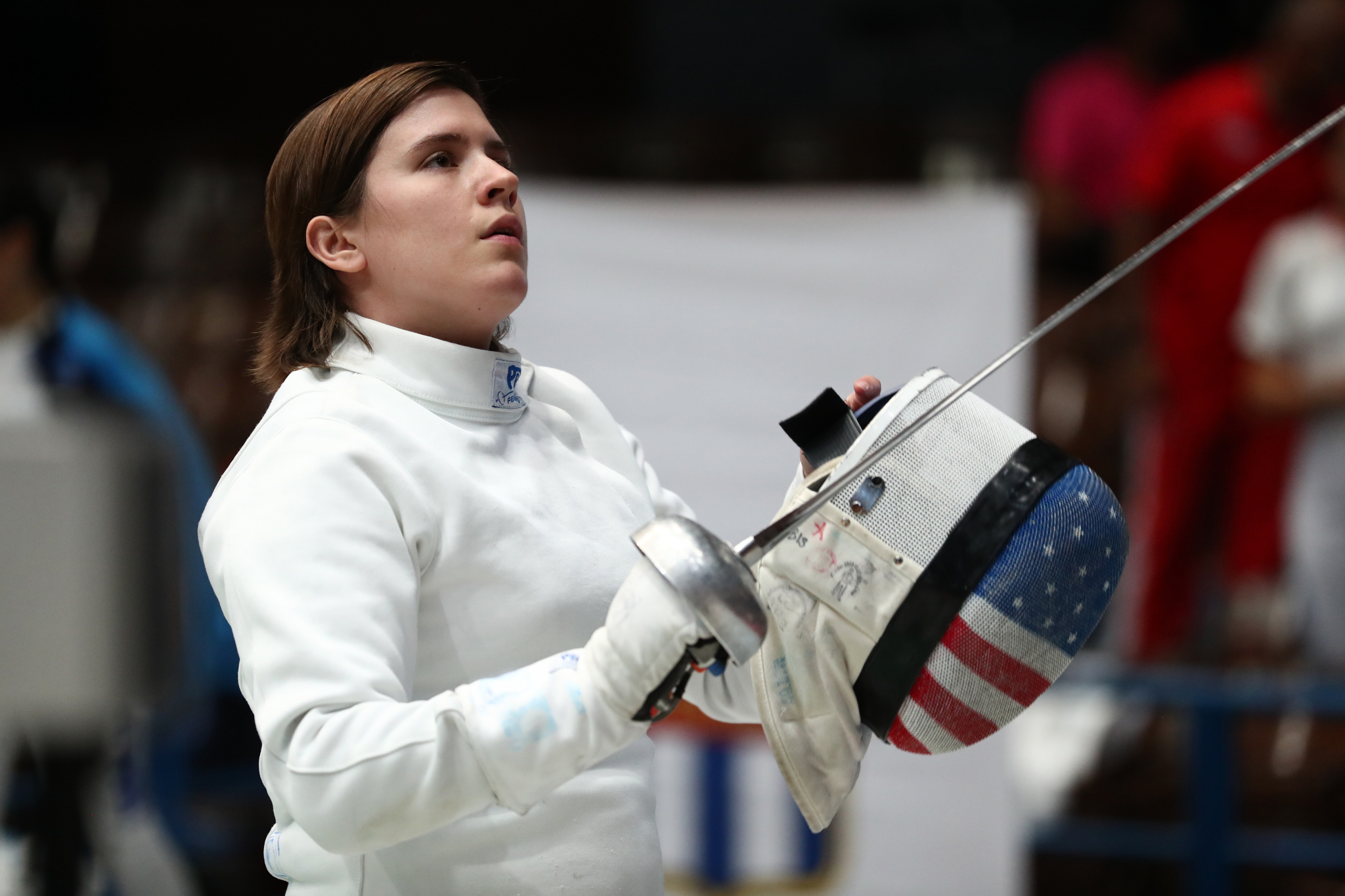 Courtney Hurley takes epee silver at fencing World Cup