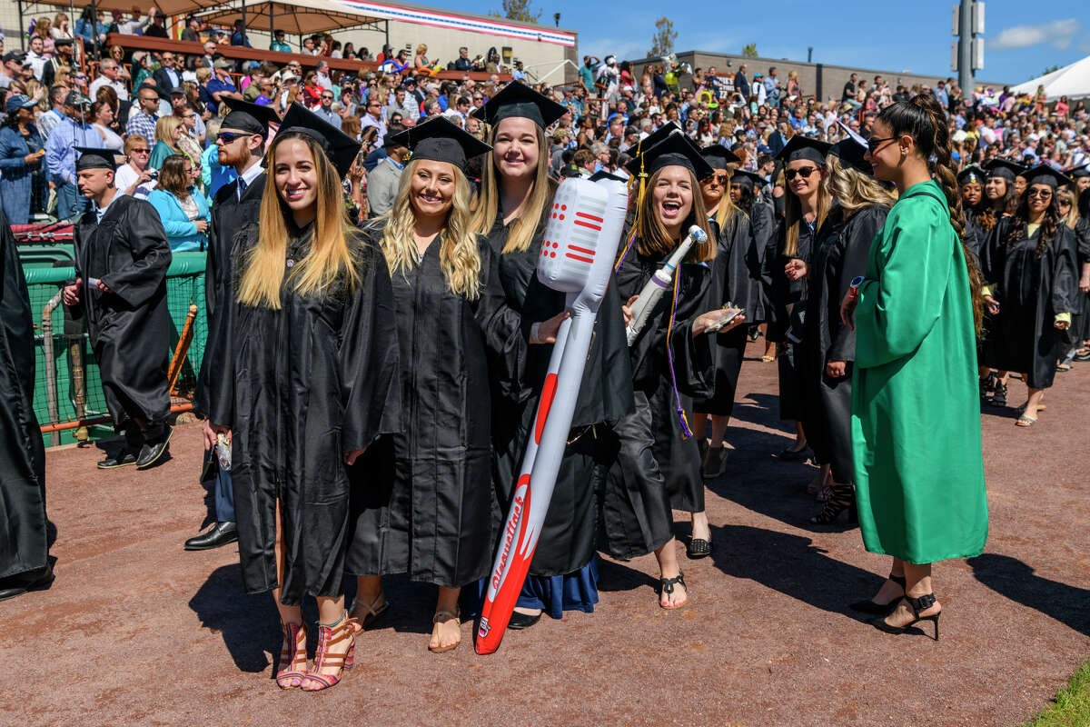 Were you Seen at Hudson Valley Community College's 65th annual Commencement ceremony at Joseph L. Bruno Stadium in Troy on May 18, 2019?