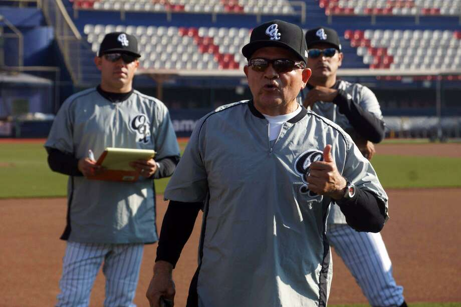 "The Tecolotes Dos Laredos replaced Felix Fermin on Saturday naming Alfonso ""Houston"" Jiménez as their new manager. Photo: Courtesy Of The Tecolotes Dos Laredos"