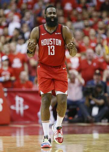 1e42665e0c00 2of2The Rockets and standout guard James Harden have fallen to the Warriors  in the postseason in four of the past five years.Photo  Bob Levey   Getty  Images